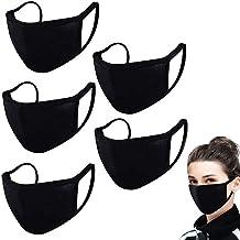 5PCS Made in USA | Reusable Washable 100% Cotton | Face_Masks Mouth Face Protective Bandana Balaclavas Dust_Mask for Unise...
