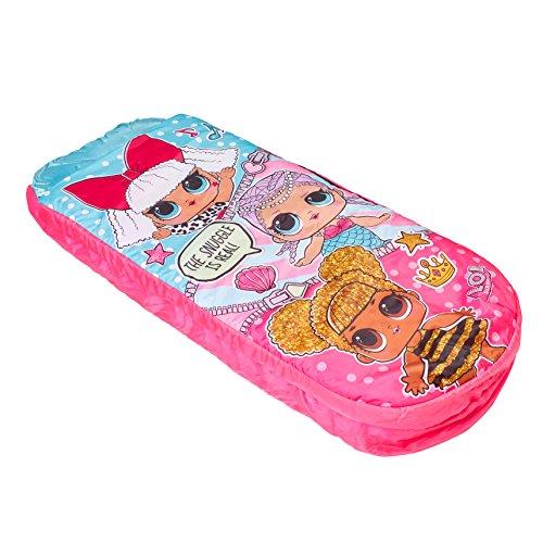 LOL Surprise – Readybed Junior – Cama Hinchable y Saco de Dormir para niños 2 en 1