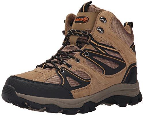 Nevados Men's Talus Hiking Boot, Light Brown/Light Brown/Black, 9.5 M US