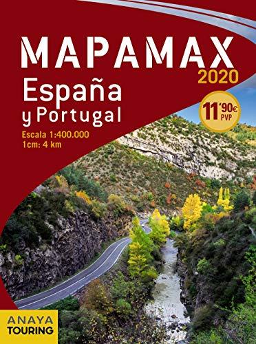 Mapamax de España y Portugal de Anaya Touring