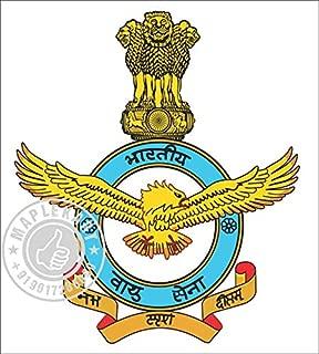 Samritika Ventures Customized Indian Air force Car Sticker