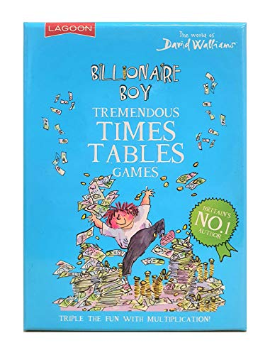 The Lagoon Group 2231 David Walliams Billionaire Boy's Tremendous Times Table Games, Nylon/A