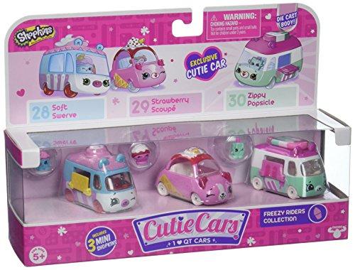 Shopkins Cutie Car Spk Season 1 Freezy Riders Toy 3 Pack