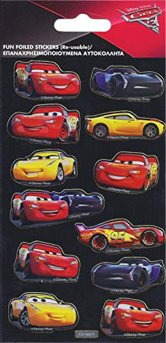 Paper Projects 9105386 Cars 3 Folienaufkleber, Packung