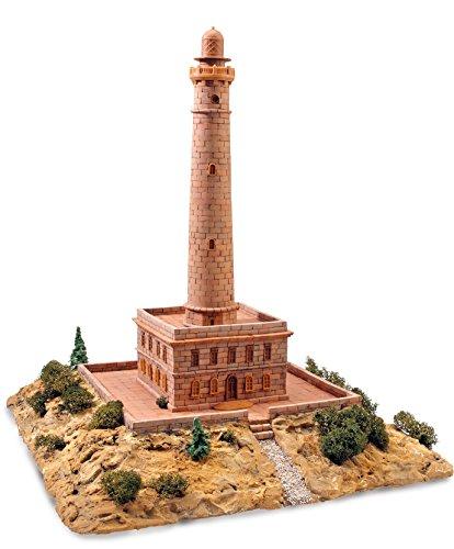 Keranova- Kit de cerámica Faro de Cabo de Palos, Color marrón (30104) , color/modelo surtido