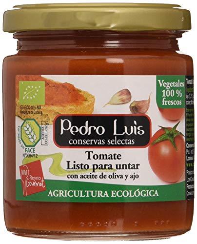 Pedro Luis Tomate Listo P.Untar C. Aceite De Oliva-Ajo 100 g