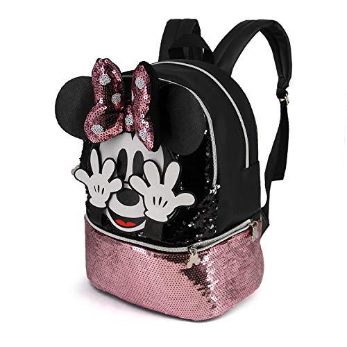 KARACTERMANIA Minnie Mouse Shy-Mochila Bouquet (Pequeña), Multicolor