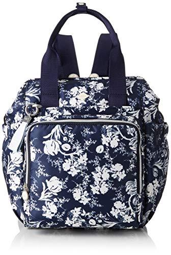 Oilily Damen Groovy Diaperbackpack Mvz Tote, Blau (Dark Blue), 15.0x36.0x26.5 cm