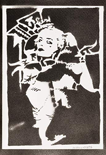 Harley Quinn Poster Suicide Squad Plakat Handmade Graffiti Street Art - Artwork