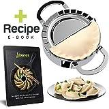 Kitories Dumpling Maker- Pastry Cutter -Tortilla Press- Cooking gadgets- Dough Cutter Mold for...