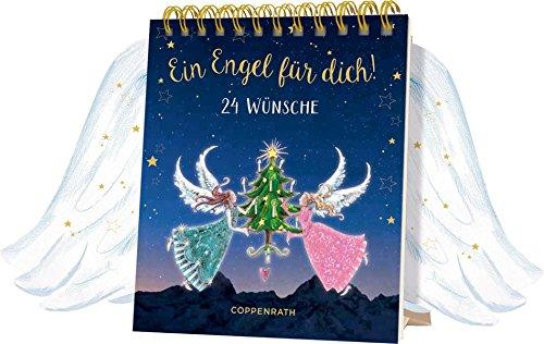 Tischkalender mit Flügeltüren - Ein Engel für dich!: 24 Wünsche