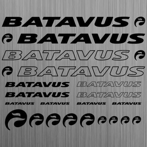 BATAVUS XL sticker fiets bike mtb bmx road 21 stuks stuks van high-performance folie sticker tuningsticker van SUPERSTICKI® hoogwaardige folie voor alle gladde oppervlakken UV en wasstraatbestendig tuning professionele kwaliteit auto auto auto raam lak professionele kwaliteit tuning