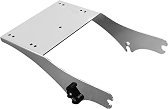 TCMT Detachable 2-up Trunk Mount Fits For Harley Davidson King Tour Pack Latches 97-08