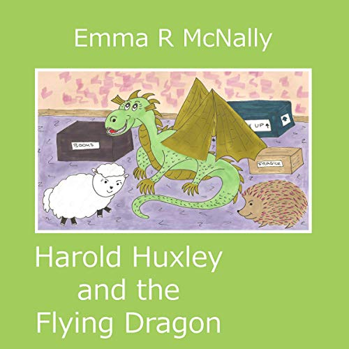 Harold Huxley and the Flying Dragon cover art