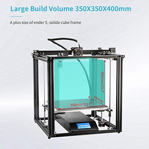 Comgrow Creality 3D Ender-5 Impresora 3D con función de impresión de currículum y fuente de alimentación certificada por UL