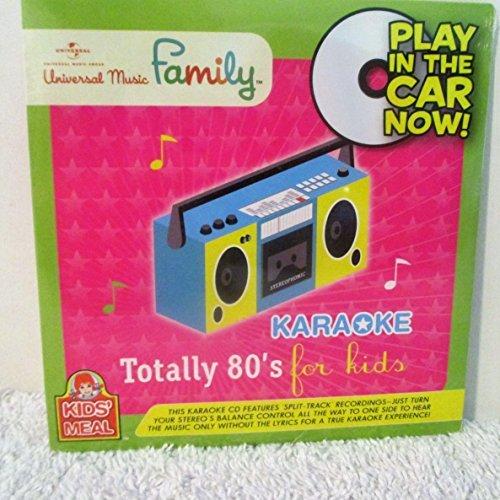Wendy's Kids Meal Karaoke Totally 80's for Kids Universal Music Family