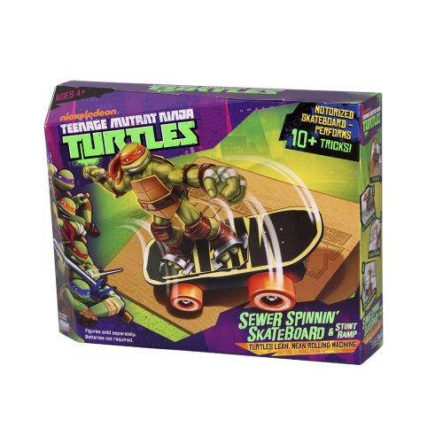 Teenage Mutant Ninja Turtles 14094051 - Sewer Spinnin Skateboard ohne Figur