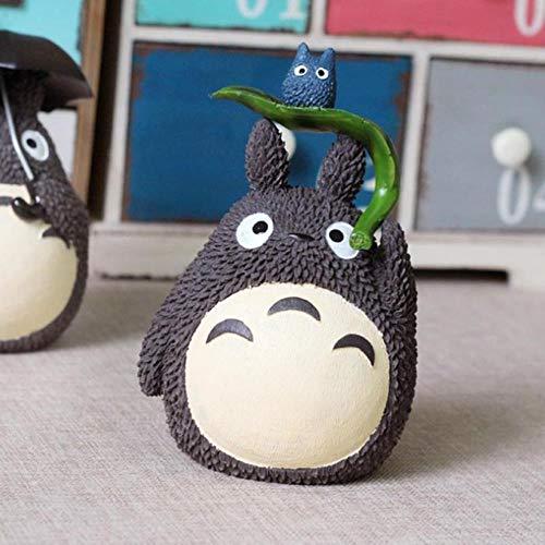 LIANGRAN Sparschwein Geschenk Piggy Harz Musik Totoro Spardose Kreative Cartoon Spardose Münze Sparschwein Home Tabletop Dekoration Handwerk, Kleine