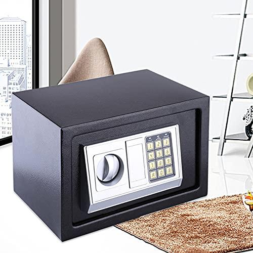 Ejoyous Cerradura de combinación Caja Fuerte, Cerradura de Seguridad con Llave para Oney Cash Monedas Joyas Llave Efectivo para Adultos