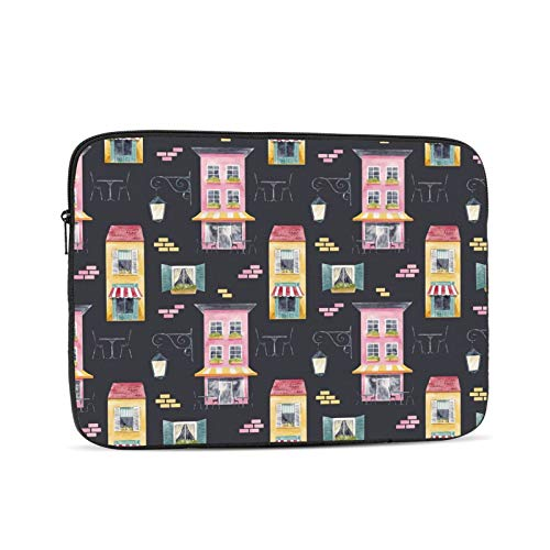 KXT Colorful Windows Laptop Sleeve Case,Briefcase Cover Protective Bag,Ultrabook Netbook Carrying Handbag for Women Men