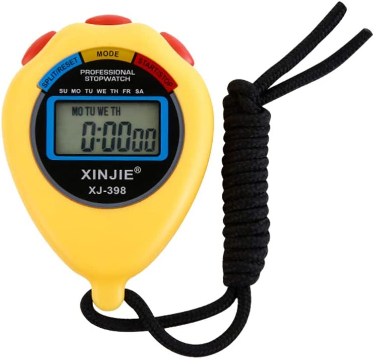 LIOOBO 1 Max 77% We OFFer at cheap prices OFF PC Sport Stopwatch Timer 2 Electronic Waterproof Tracks
