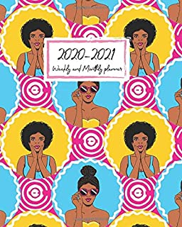 2020-2021 Weekly and Monthly planner: Calendar Schedule + Organizer | Inspirational Quotes ( Planners July 2020 through Ju...