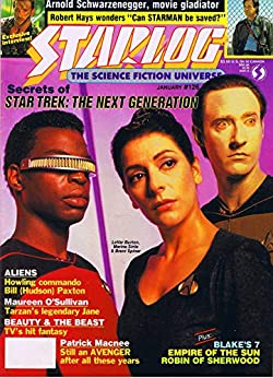 Starlog Magazine The Sci Fi Comics: January 1988 by [William Shatner]