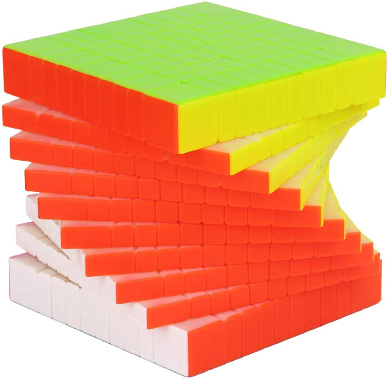 Para tu estilo de juego a los precios más baratos. Lecc Cubo De Rubik 10o Orden Orden Orden 10  10  10 Cubo De Velocidad Magia Fluorescente Color Puzzle Suave Sensación Buena Velocidad Entrenamiento Cerebral Creativo Juego Educación Regalo  directo de fábrica