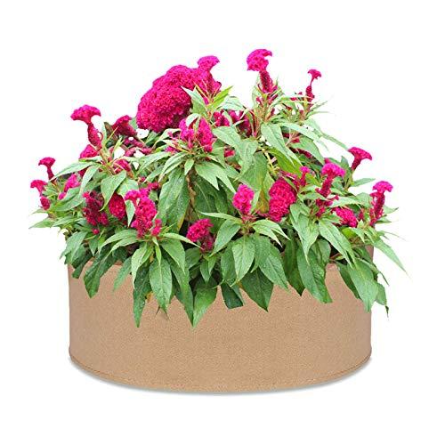 Takefuns Bolsa de semillero de 30 galones de flores para cultivo de plantas espesadas para organización de crecimiento de siembra suministros de jardín macetas de tela de alta capacidad