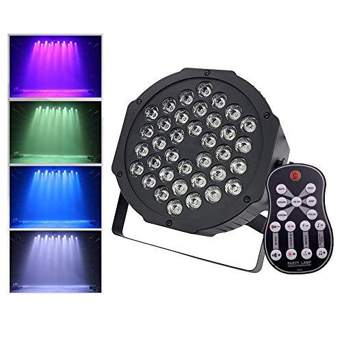 Party Stage Lights luz de Escenario 11W 36LEDs RGB DMX512 Iluminación de...