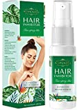 Nopunzel Hair Inhibitor- 50 ML - Hair Stop Growth Spray - Natural Ingredient to Inhibit and Reduce to Stop Hair Growth - Safe for Face, Arm, Leg, Armpit Use - Smooth Your Skin (A) (B)