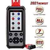AUTEL MD806 Pro, 2021 Newest OBD2 Scanner Upgraded Version of MD802/MD808 with All System Diagnoses, 7 Special Features, Plus DTC Lookup, Data Playback & Print for DIYers and Mechanics