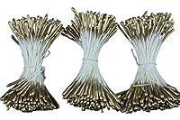 造花 布花・アートフラワー用 ペップ (花芯) P221 リースゴールドペップ 両付き ゴールド 3束入り (144本/束×3束=1袋)