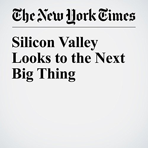 Silicon Valley Looks to the Next Big Thing audiobook cover art