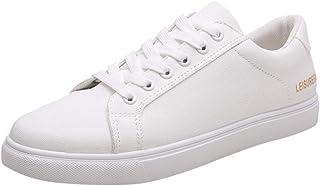 Lailailaily Men's Casual Canvas Flat Versatile Low-Heel Comfortable Non-Slip Sneakers Shoes