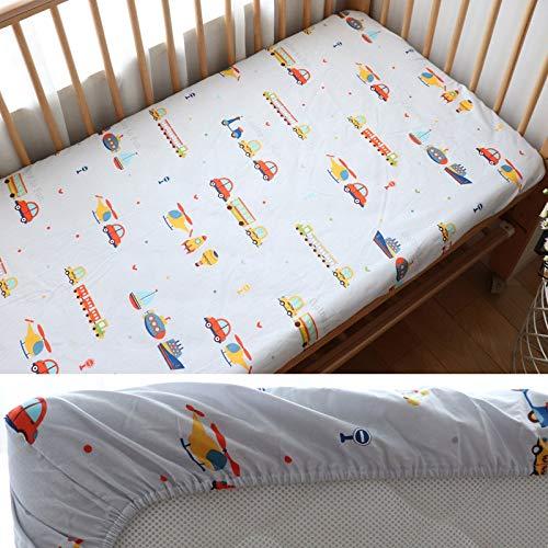weichuang Baby-Matratze für Babybett, Spannbetttuch, Baumwolle, für Neugeborene,...