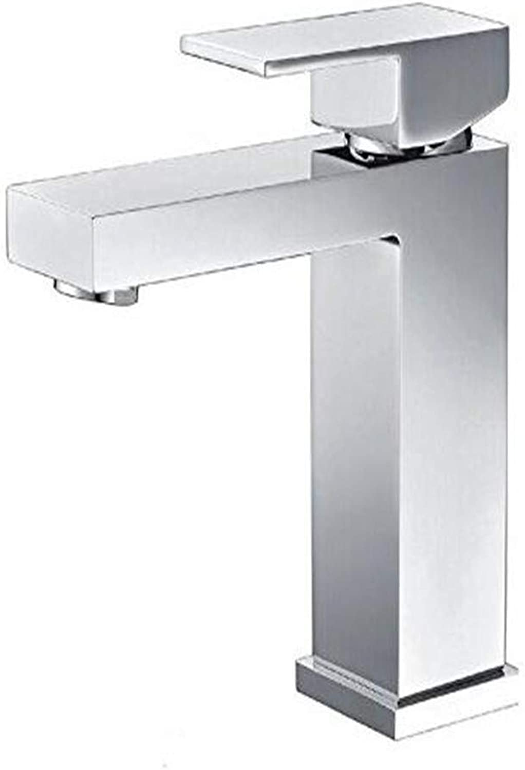 Chrome Kitchen Sink Tapcopper Four Aspects of The Lower Basin Faucet in The Cold and Hot Basin of The Basin