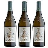 Vino Blanco Ecologico Sabalo de 75 cl - D.O. Tierra de Cadiz - Bodegas Barbadillo (Pack de 3 botellas)