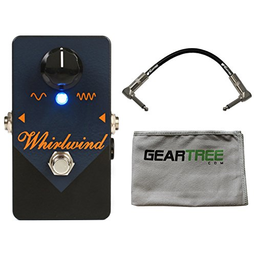 Whirlwind Rochester Series Orange Box Phaser Pedal w/Cleaning Cloth and Cable
