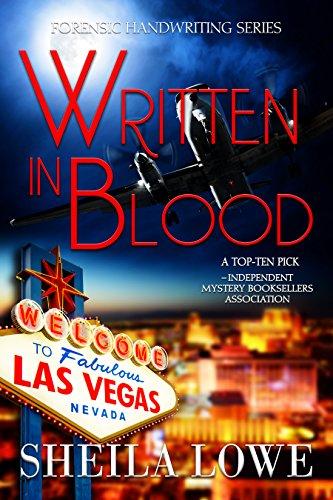 Book: Written In Blood - A Forensic Handwriting Mystery by Sheila Lowe