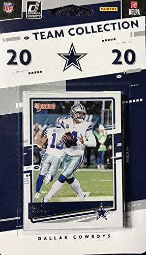 Dallas Cowboys 2020 Donruss Factory Sealed 11 Card Team Set with Dak Prescott Emmitt Smith Ezekiel product image