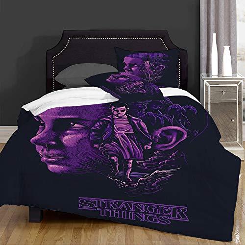 IU POP-Street Duvet Cover Set-Bedding,Stranger things,for Single Double King Bed/Made of Ultra-Soft Microfiber