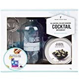 Modern Gourmet Foods, Make Your Own Colour Changing Cocktail Kit, Includes Glass Infusion Bottle, Strainer and Flower Tea (Contains No Alcohol)