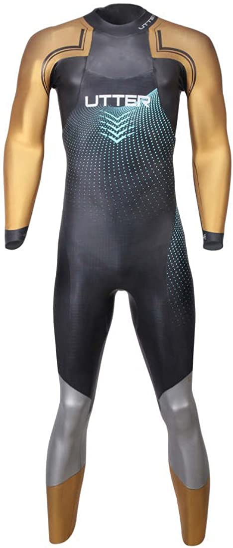 UTTER Dealing full price reduction Men's Triathlon Wetsuit Neoprene Fullslee SCS Nano 5 ☆ very popular Coating