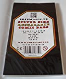 docsmagic.de 100 Resealable Silver Size Comic Book Bags 7-1/8'x 10-1/2'+ 1-1/2'Flap- 2 Mil - Bustine Protettive Richiudibile
