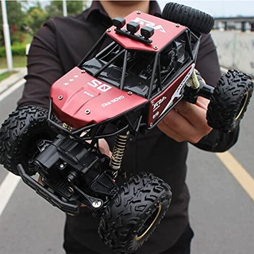 MGJX Nuevo Coche De Control Remoto con 90 Minutos De Vida Útil Ultralarga 4WD 2.4G Radio Coche De Juguete Vehículo Todoterreno Recargable Camión De Alta Velocidad Coche De Escalada para Niños Niñas