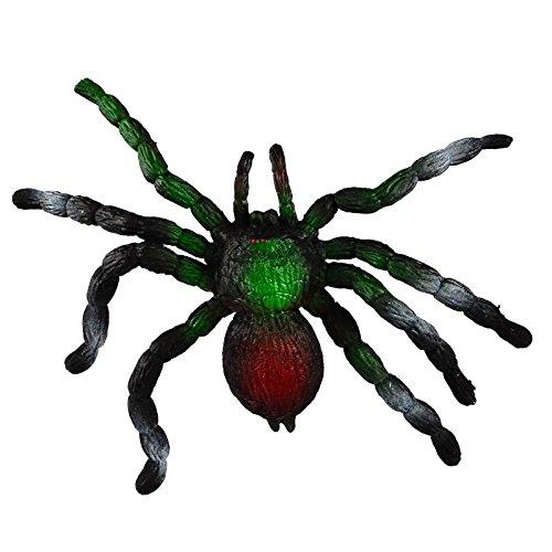 BOHS Realistische Spinne - Streichspielzeug beängstigend Simulation Tiermodell - große weiche elastische (Dehnung bis zu 3 Fuß) - Stressabbau…