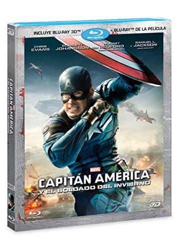 Capitán América y el Soldado del Invierno (BR 3D + BR) [Blu-ray]