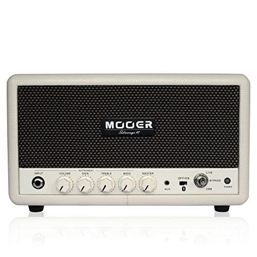 Mooer (ムーアー) Silvereye 10 / 多機能プラクティスアンプ! 10W ハイクオリティBluetoothオーディオ × ギ...