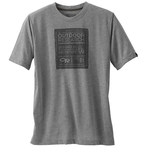Outdoor Research Tag Tech TEE silver/charcoal L
